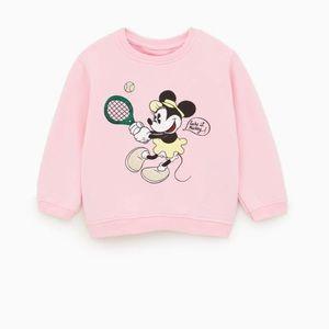 Zara x Disney baby girl Minnie Mouse sweatshirt